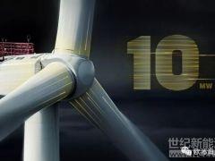 全球首次采用三菱维斯塔斯 9.5MW升级版海上风机