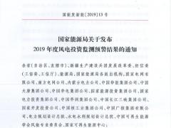 """2019风电投资监测预警结果:吉林""""脱帽"""" 甘肃/新疆暂停!"""