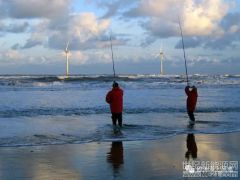 别了!英邦本土第一座海下风电场行将服役!