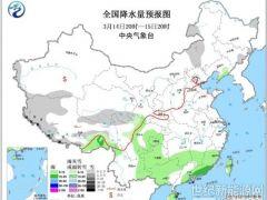 弱冷氛围影响南方地域 西藏青海有显着降雪
