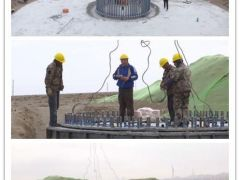 甘肃全省首个风电平价上网示范项目在玉门开工