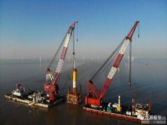 龙源江苏大丰(H7)200MW海上风电项目圆满收官