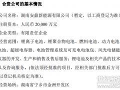 转战储能市场寻破局?坚瑞沃能拟与江苏华控2亿元成立储能企业
