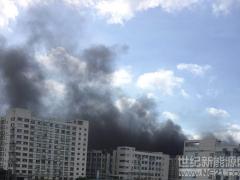 突发!比亚迪总部起火 办公人员被紧急撤离