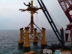 三峡租赁对广东阳江300MW海上风电融资租赁项目实现首笔投放
