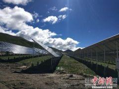 青海最大规模村级联建扶贫光伏电站并网发电