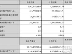 南都电源半年报:营业收入同比下降3.58%、净利润同比下降16.39%