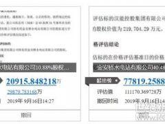 汉能金安桥水电站51.36%股权拍卖被法院撤回