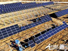 山西山阴80MW光伏发电竞价项目力争年底前并网发电