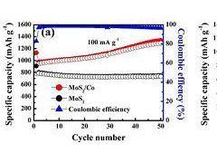 合肥研究院在MoS2锂离子电池电极材料研究方面取得系列进展