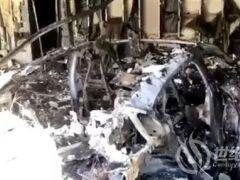 百万保时捷电动豪车惨烈爆炸:盖茨同款座驾