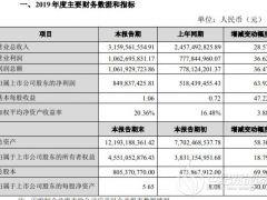 持续扩张电池隔膜产能 恩捷股份2019年净利润同比增长63.92%