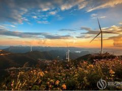 2019年度湖南省绿色生态风电场——五凌电力永顺大青山风电场风采赏析