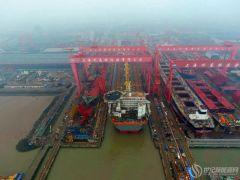 如期履约,亚洲第一长船坞主体船坞主体