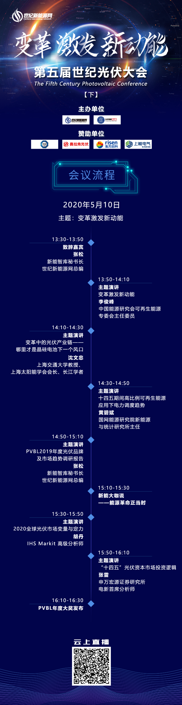 世纪光伏大会日程10日(1)