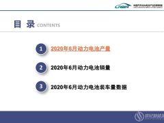 2020年6月动力电池产量5.3GWh 其中磷酸铁锂2.2GWh、同比增长29.1%