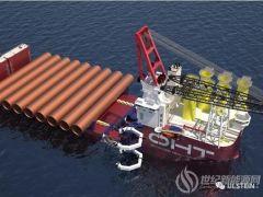 中国造!全球最大半潜重吊船签约最大海上风场Dogger Bank