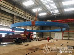 青岛深远海风电V型12MW浮式机组将进入总装测试阶段