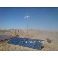 1KW家用风力发电机220V养殖场风光互补发电系统