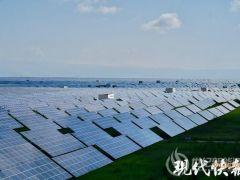 光伏发电扶贫增收,海南州绿色产业发展园每年向江苏输送十亿度电