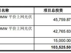 九洲集团募资5亿元可转债投建黑龙江泰来县200MW平价光伏项目申请获批