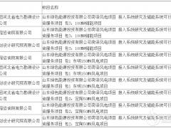 山东绿色能源菏泽风电项目100MW储能项目研究中标公示