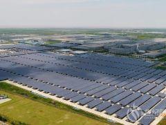 宁波杭州湾:超级停车场上光伏发电
