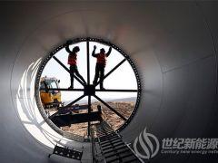 忻州:五寨杏岭子100兆瓦风电项目加紧建设中