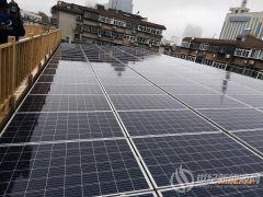 开展低碳教育 济南回族中学建立30KVA太阳能光伏电站