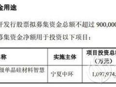 """祭出92亿元扩产项目后 """"硅王""""中环股份再次抛出110亿元扩产计划"""