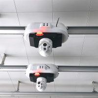 滑轨巡检机器人,移动监控机器人,移动监控轨道车