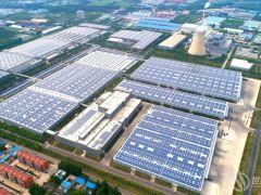 120万平屋顶装光伏!全球最大工商业光伏项目为整县推进提供示范案例,速来学习!