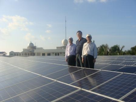 西沙永兴岛100kw光伏电站项目通过专家验收评审